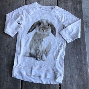 OshKosh Bunny Tunic Top Knit Photoreal Shirt 6X